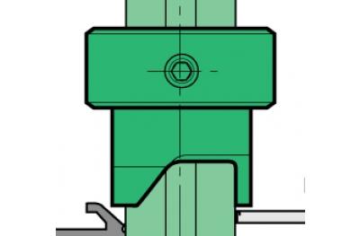 Lamatore Proni Rápido-Block de puerta de aluminio y PVC