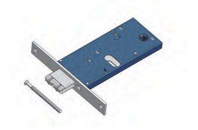 Enrolle Omec ajustable con Mandato gama Bloqueo de Mecánica de aluminio