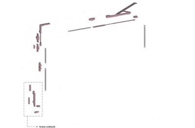 Ribantatre Grupo Savio Básica R Brazo estándar Fulcrum Vertical