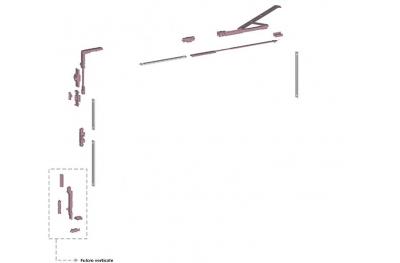Ribantatre Grupo Savio Básica R giratorios del brazo corto Vertical