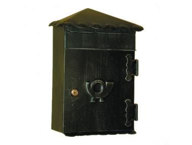 6011 Cartas Porta con tejado de hierro forjado artesanal de bolsos de Lorenz