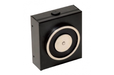 La retención de electroimán Negro 140 Kg sin botón de liberación 18100 Opera