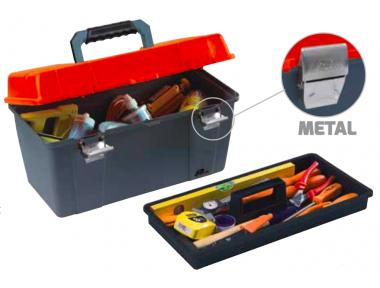 651 Plano Caja para Herramientas Cierres de métal Contractor Line