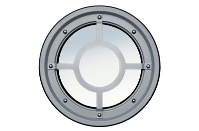Ojo de buey de barandilla metálica de acero inoxidable AISI 304 Tipo B Raised