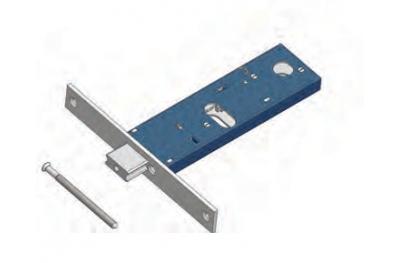 Cerradura de perno ajustable para Mecánica rango Omec Aluminio