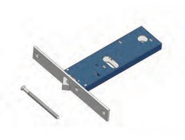 Omec gama de bloqueo del gancho de Mecánica de aluminio
