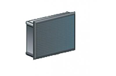 Enchufe rectangular Medalla Nylon Negro Caja de 200 piezas de diversos tamaños