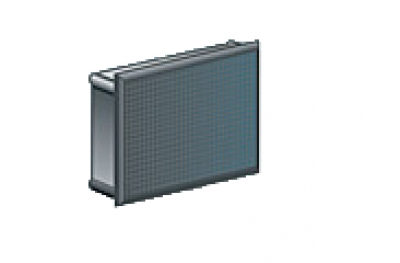Enchufe rectangular Medalla Nylon Negro Caja de 250 piezas de diversos tamaños
