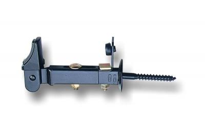 BIG Ghidini hombrecillo con el tornillo, 2 Configuración, Espesor de la puerta 70 mm Cabeza Alta FZT + N