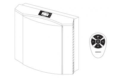 Aerovital Paquete Siegenia con dos filtros de repuesto