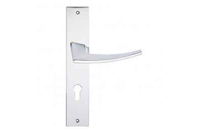 formas Antares Serie manera maneta placa de la puerta de Frosio Bartolo Diseño Moderno
