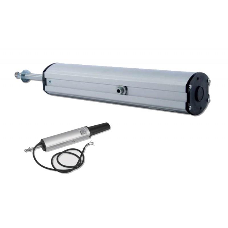 Actuador Aprimatic vástago ST 450N con 180-300mm Accesorios Fijación