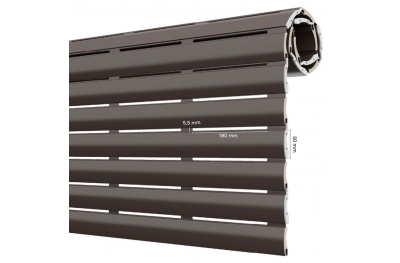 Persiana enrollable AriaLuce 50 Pinto de aluminio con poliuretano de alta densidad
