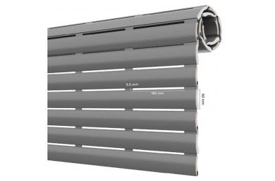AriaLuce 50 Pinto Persiana Enrollable de Aluminio Aislado de Densidad Media