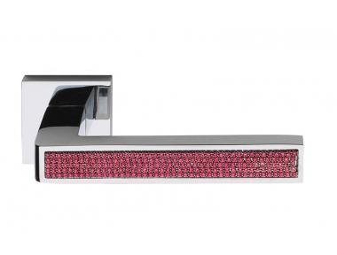Barletta Crystal Pink Manija en Rosetta Cuadrada Fashion Line PFS Pasini