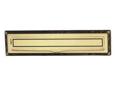Sorriso Formato buzón placa de latón PFS Pasini