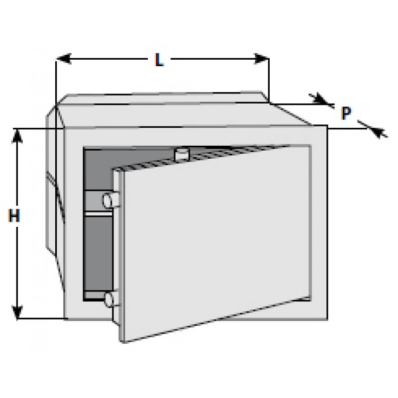 Electrónica Segura Cisa DGT Visión entre varios tamaños móviles