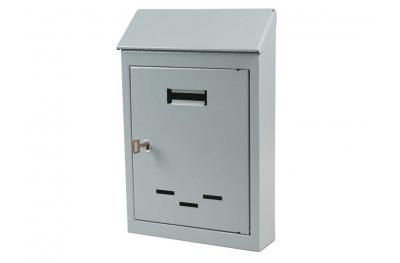 Mail Box Pequeña o Mediana Gray pintadas hierro con Clave IBFM