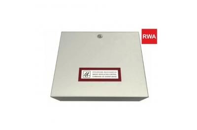 RWA RWZ 1-4b Unidad de control 230V 50Hz para sistemas de evacuación de humo y calor para uso con actuadores de cadena RWA Topp