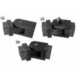 Bisagra barandillas de seguridad de doble articulación varios tipos IBFM