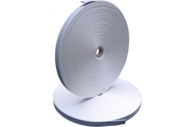 correa de las persianas de algodón gris Ancho 22 mm bobina de 50m PosaClima Renova