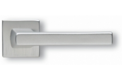 Par de manijas Ghidini Arquímedes Modelo de plata F1-SAT Rosette y respiraderos
