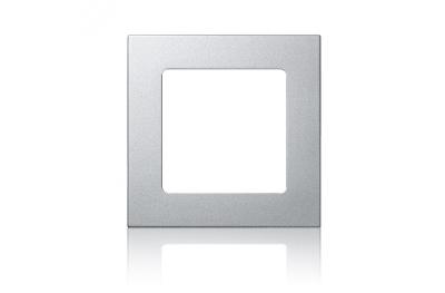 Marco de plata de Smoove por Somfy remoto pared del tacto