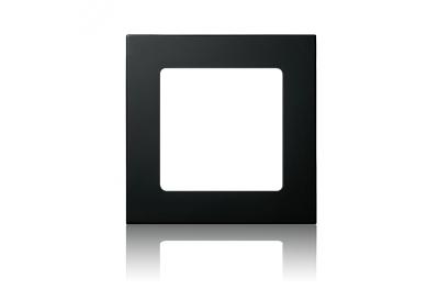 Marco negro para el control remoto Smoove Somfy de la pared del tacto