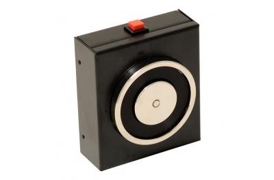 La retención de negros electroimán 140 kg con el botón de liberación 18101 Opera