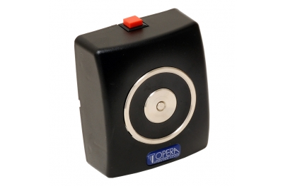 La retención de electroimán Negro con el botón de liberación 19001 Opera