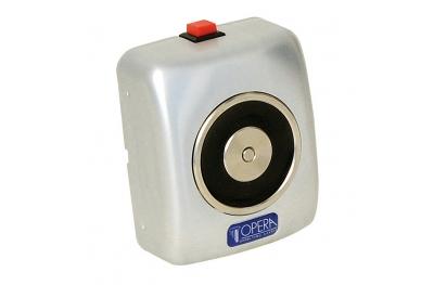 La retención de electroimán de aluminio con botón de liberación 19002 Opera