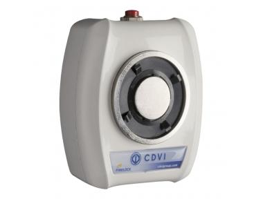 VIRA5024 Electromagnet 50Kg 24V DC Detiene la puerta de placa fija e inversa fija y reversible + HRV CDVI