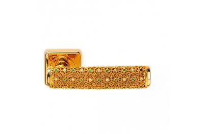Joyas de oro sueño manija de la puerta 2 PFS Pasini con Rosetta y la boquilla