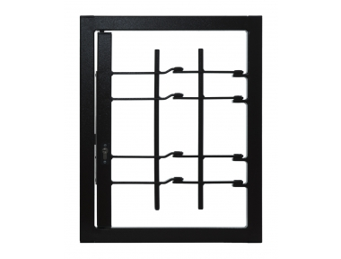 Grating Light 1 puerta con junta de Clase de Seguridad 3 marco estándar Leon Aberturas