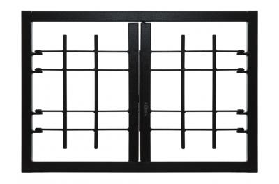 Grating Light 2 Ante Sin Conjunta de Clase de Seguridad 3 bastidor estándar León Aberturas