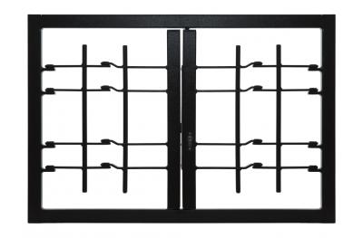 Grating Light 2 puertas con marco Conjunta de Clase de Seguridad 3 Estándar Leon Aberturas