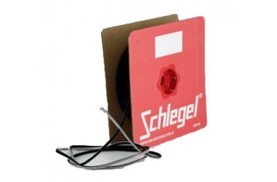 junta de cepillo Schlegel Polybond 4,8x9mm Sin Fin Negro rollo 225m