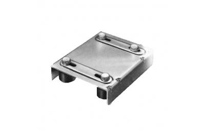 Acero Orientación Superior 4 de oliva Nylon Savio para puertas correderas de acero inoxidable