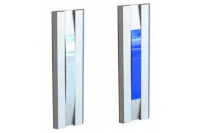 La luz azul blanca Porte Serie 55030BB perfil Opera