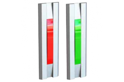 Puertas de luz Red Green de la serie 55030 Perfil Opera