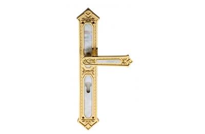 King Jewellery Line PFS Pasini Manija en la Placa para Puerta