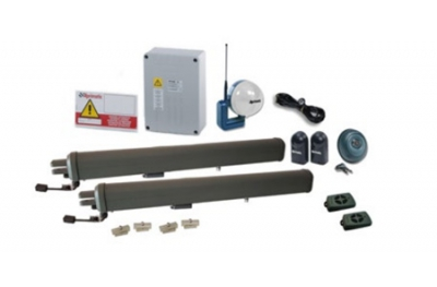 Kit de automatización para cancelas batientes con fin de carrera mecánico Aprimatic R251 FM