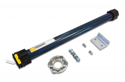 Kit Motor Tubular Cableado para Persiana Eléctrica Somfy MR 100 10 Nm