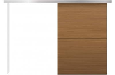 Kit de puerta corrediza de pared externa Minimal Silent Essential Design