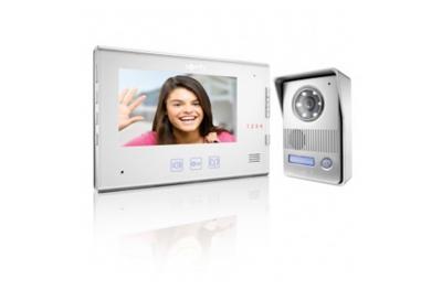 Kit de videoportero digital Somfy V400 con cámara y 2 cables