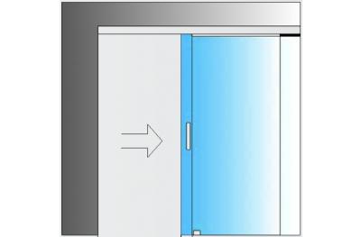 Kit deslizante Sistema de vidrio MiniSlide SbyC con guía deslizante