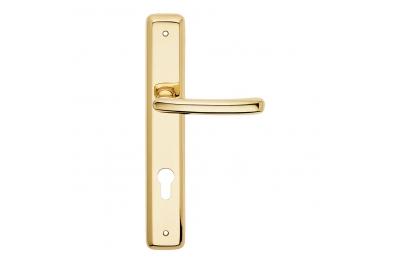 Lena formas básicas de la serie de la placa de tirador de la puerta Frosio Bartolo diseño clásico italiano