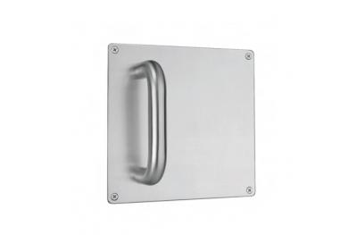 mango fijo de acero inoxidable placa de Quadra PBA 2201 AISI 316L