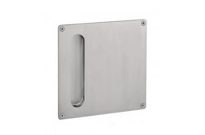 manija PBA 2301 de acero inoxidable AISI 316L para puerta corrediza