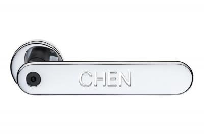 Tirador de puerta con escritura personalizada H1055 Valli&Valli